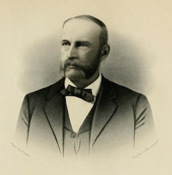 Photograph of Cecil A. Burleigh after the Civil War