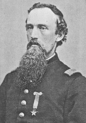 Photograph of Cecil A. Burleigh during the Civil War